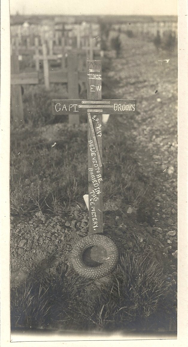 [Ernest Brooks cross, Cement House Battlefield]