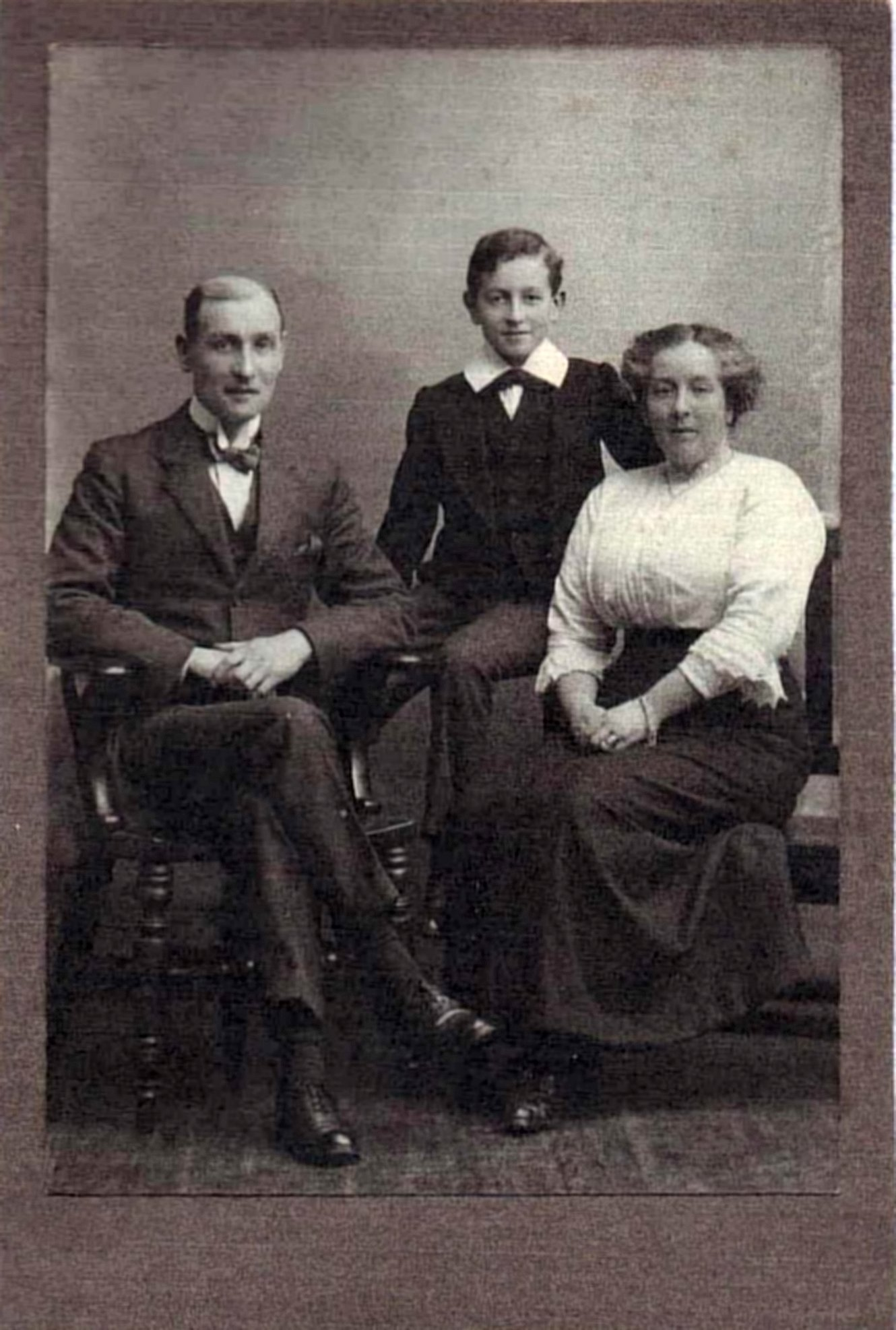 [Thomas, Reginald and Eliza Townsend]