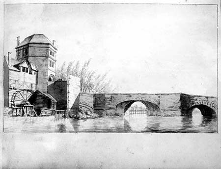 Folly Bridge and Friar Bacons study